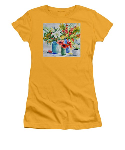Watercolor Series No. 256 Women's T-Shirt (Athletic Fit)