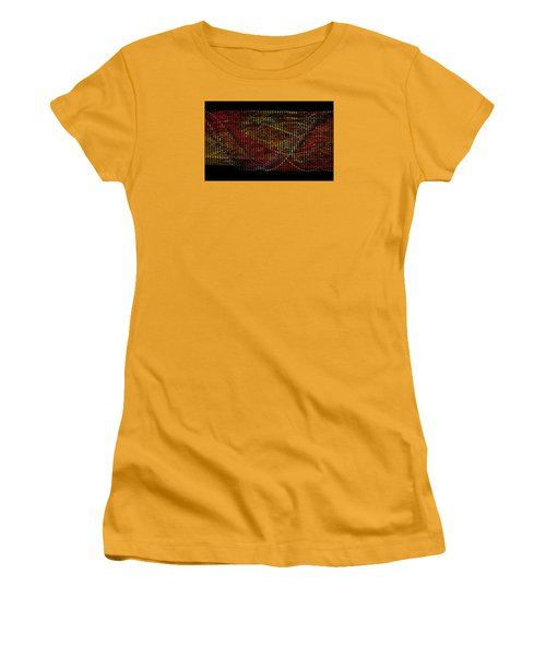 Abstract Visuals - Wavelengths Women's T-Shirt (Junior Cut) by Charmaine Zoe