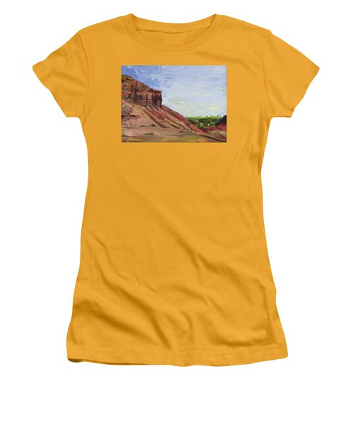 Weber Sandstone Women's T-Shirt (Junior Cut) by Jane Autry