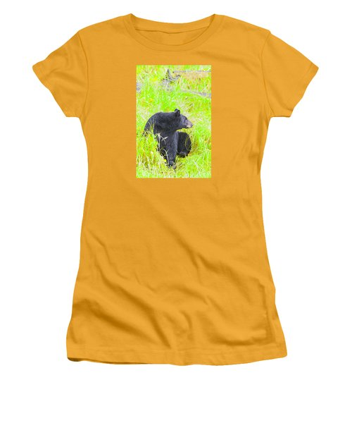 Who's There Women's T-Shirt (Athletic Fit)
