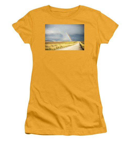 Wide Open Spaces Women's T-Shirt (Athletic Fit)