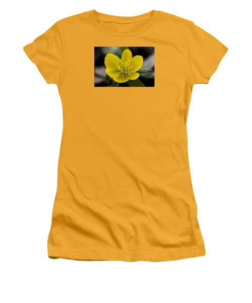 Winter Aconite Women's T-Shirt (Athletic Fit)