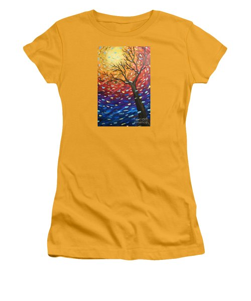 Winter Sun Women's T-Shirt (Athletic Fit)