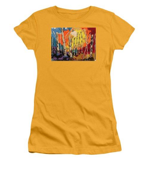 Woods Women's T-Shirt (Athletic Fit)