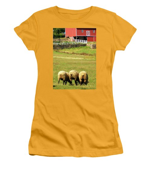 Wooly Bully Women's T-Shirt (Junior Cut) by Trish Tritz