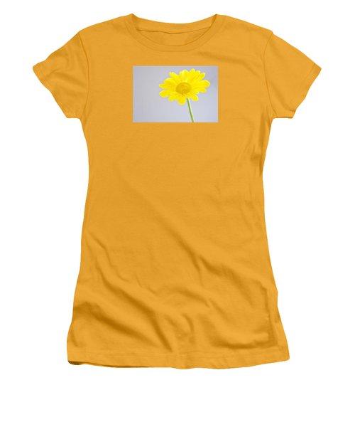 Yellow Drops Women's T-Shirt (Junior Cut) by Shelly Gunderson