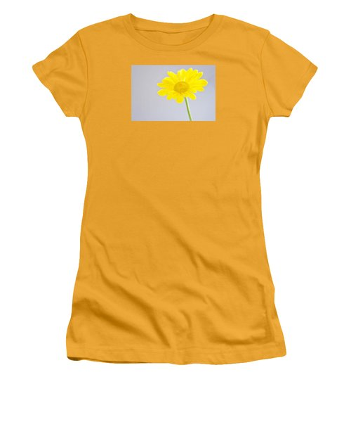 Yellow Drops Women's T-Shirt (Athletic Fit)