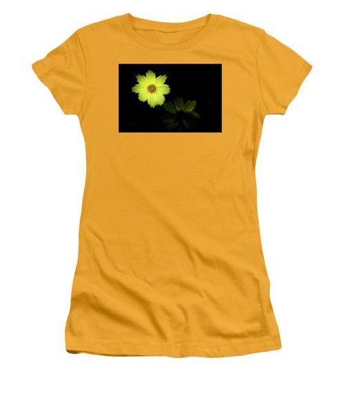 Yellow Flower Women's T-Shirt (Junior Cut) by Jay Stockhaus