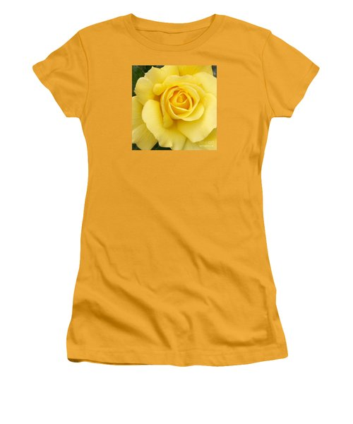Yellow Gold Women's T-Shirt (Junior Cut)