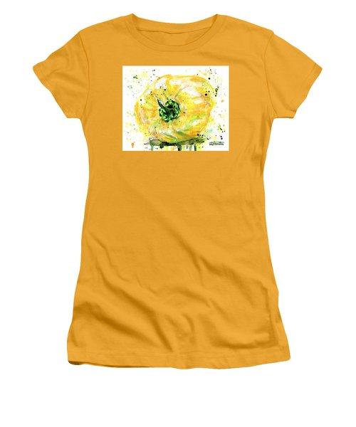 Yellow Pepper Women's T-Shirt (Junior Cut) by Arleana Holtzmann