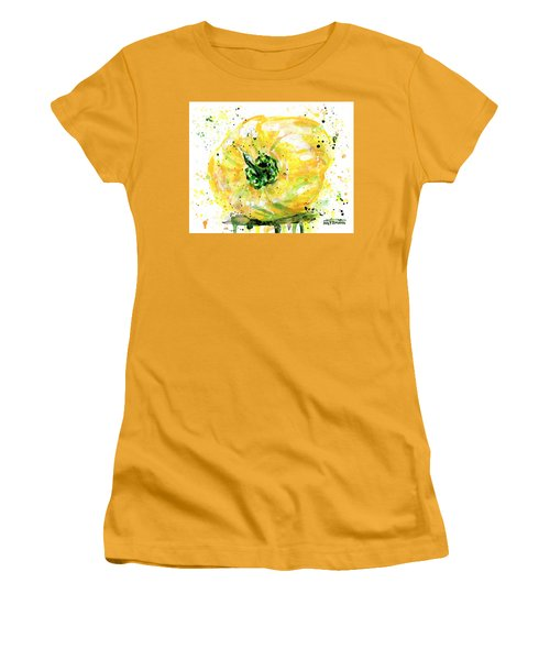 Yellow Pepper Women's T-Shirt (Athletic Fit)