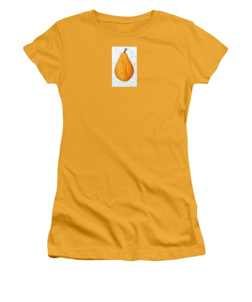 Yelow Pear Women's T-Shirt (Athletic Fit)