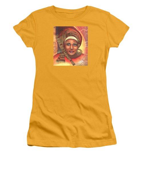 Yes . . . One Woman Can . . .  Women's T-Shirt (Junior Cut) by Alga Washington