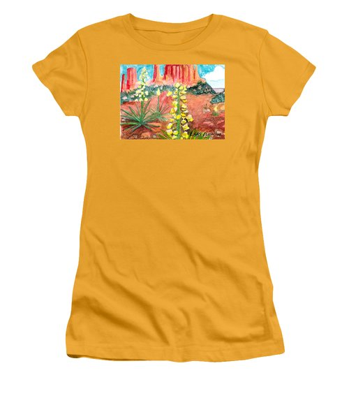 Yucca In Monument Valley Women's T-Shirt (Athletic Fit)