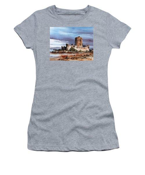 Doe Castle In Donegal Women's T-Shirt