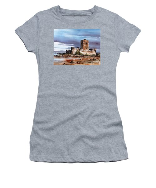 Doe Castle In Donegal Women's T-Shirt (Athletic Fit)