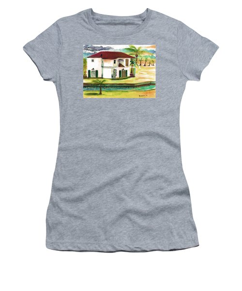 Fort Lauderdale Waterway Women's T-Shirt (Athletic Fit)