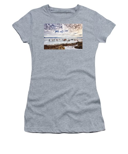 Ice Boats On Lake Pepin Women's T-Shirt