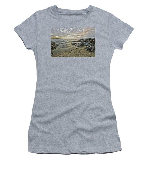 Skerries Ocean View Women's T-Shirt (Junior Cut) by Martina Fagan