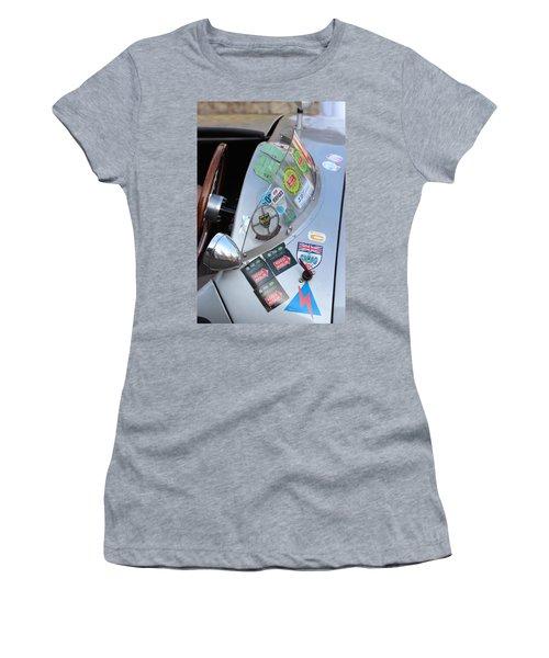 Windscreen Sticker Women's T-Shirt (Athletic Fit)