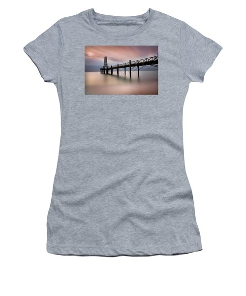 Wooden Pier Women's T-Shirt (Athletic Fit)