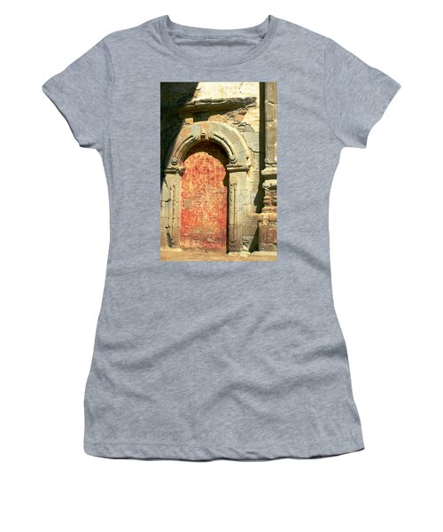0584 San Juan Capistrano Mission Women's T-Shirt