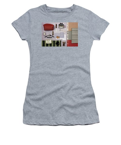 A Group Of Household Objects Women's T-Shirt