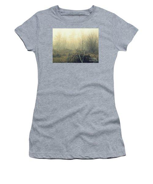 Abstract Forest Women's T-Shirt (Junior Cut) by France Laliberte
