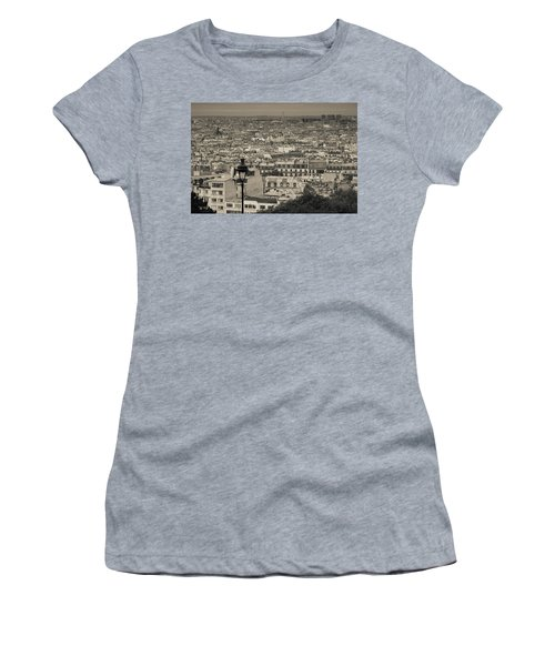 Aerial View Of A City Viewed Women's T-Shirt
