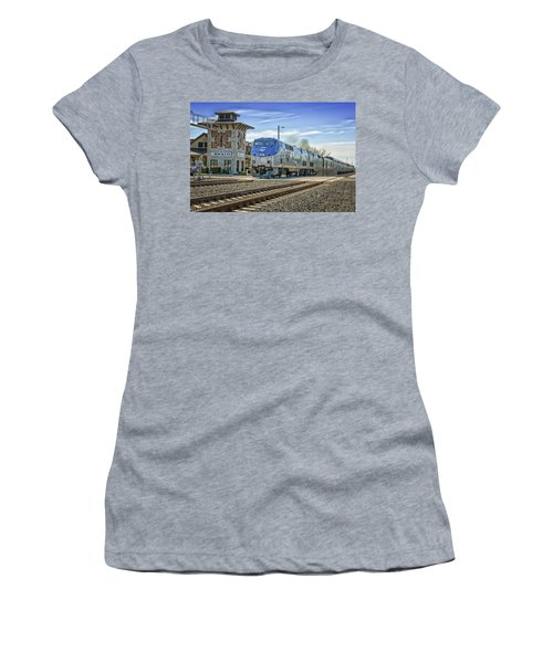 Amtrak 112 Women's T-Shirt (Junior Cut) by Jim Thompson