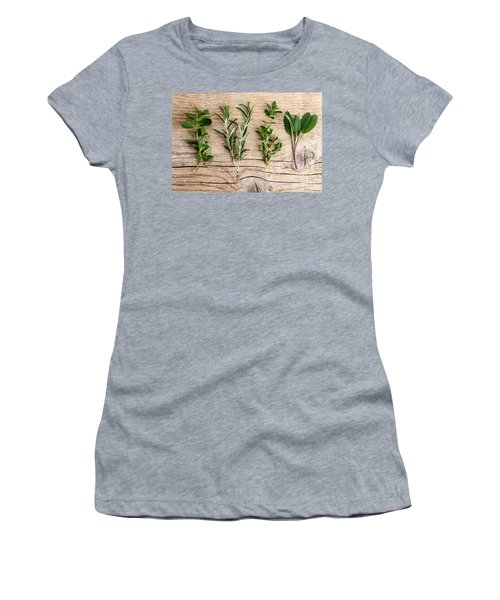Assorted Fresh Herbs Women's T-Shirt
