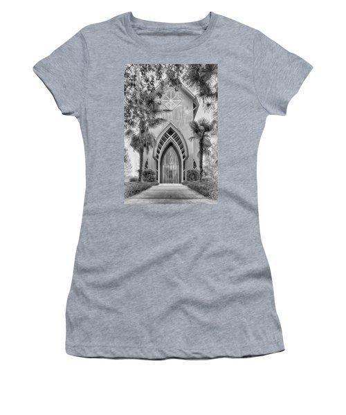 Women's T-Shirt featuring the photograph Baughman Meditation Center  by Howard Salmon