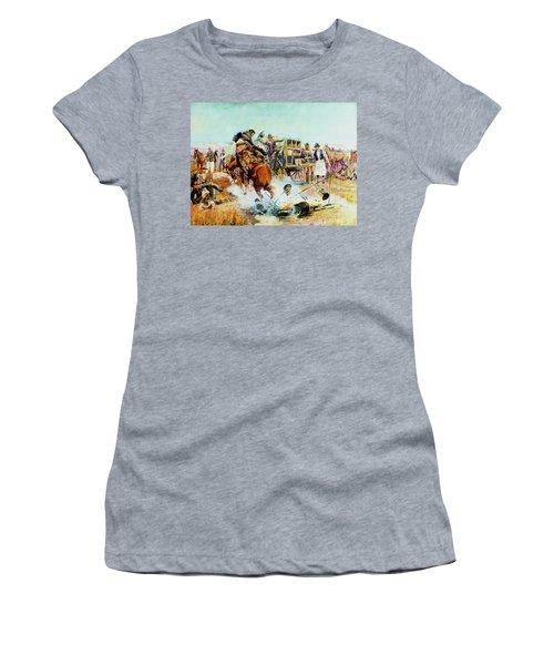 Bronc For Breakfast Women's T-Shirt