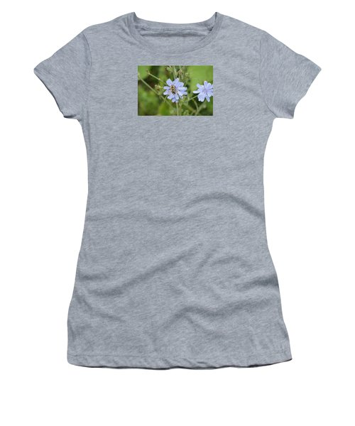 Women's T-Shirt (Junior Cut) featuring the photograph Bumble Bee by Heidi Poulin