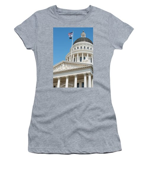 California State Capitol In Sacramento Women's T-Shirt (Athletic Fit)