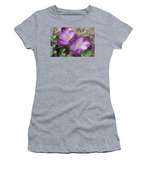 Crocus  Women's T-Shirt (Athletic Fit)