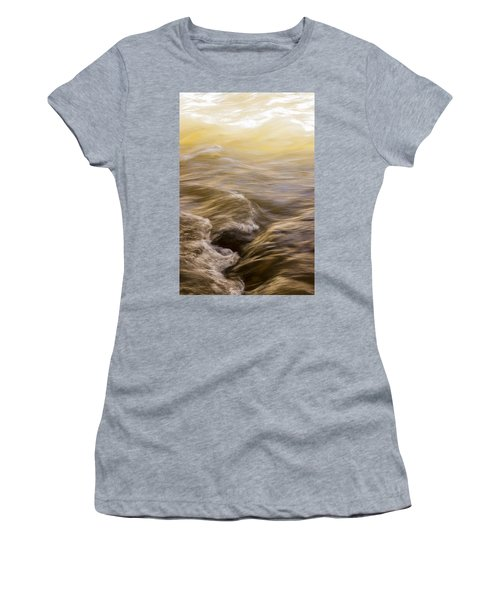 Dance Of Water And Light Women's T-Shirt (Athletic Fit)
