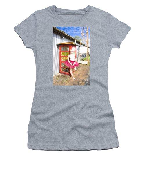 Dancer And Telephone Box Women's T-Shirt