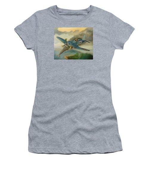 F4u Corsair Women's T-Shirt (Junior Cut) by Stuart Swartz