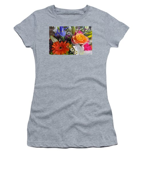 Floral Bouquet 5 Women's T-Shirt (Athletic Fit)