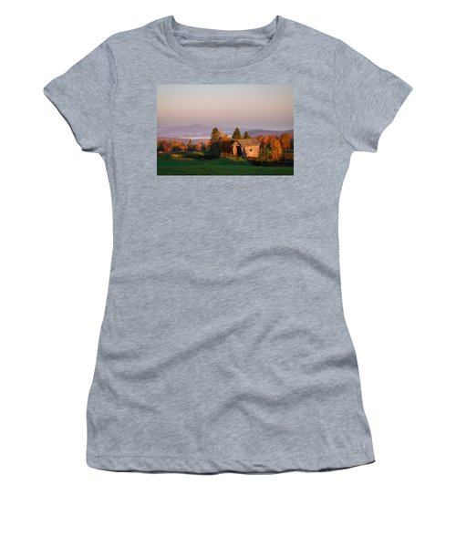 Fog In The Valley Women's T-Shirt