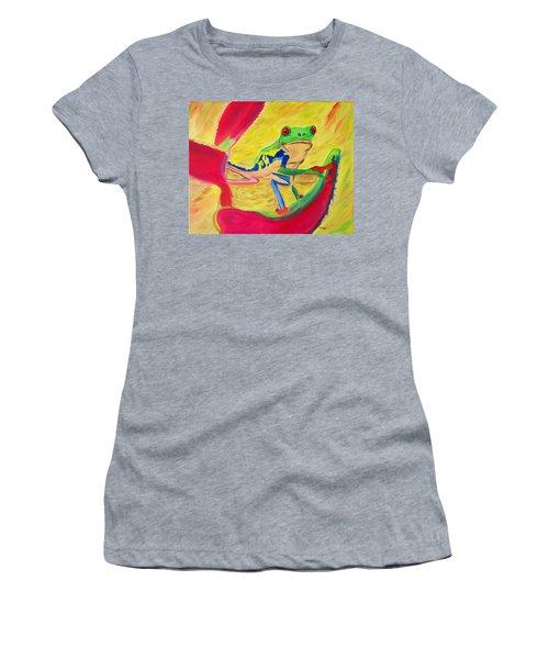 Rainforest Melody Women's T-Shirt (Athletic Fit)