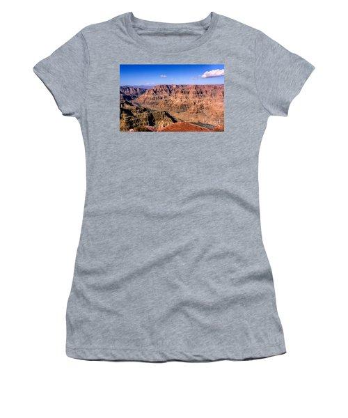Grand Canyon Women's T-Shirt (Junior Cut) by Lynn Bolt