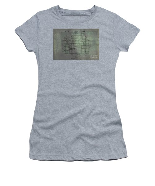 Harleigh Holmes Original Automobile Patent  Women's T-Shirt (Athletic Fit)