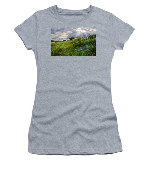 Heaven's Light  Women's T-Shirt (Athletic Fit)