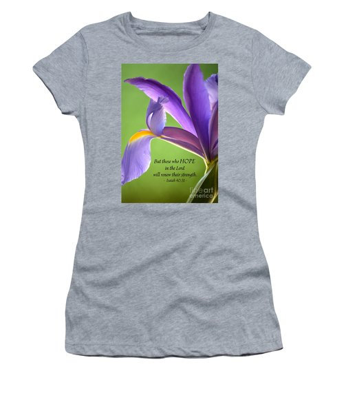 Hope Women's T-Shirt (Athletic Fit)