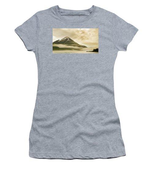 Kayaker And Marine Fog On The Alsek Women's T-Shirt