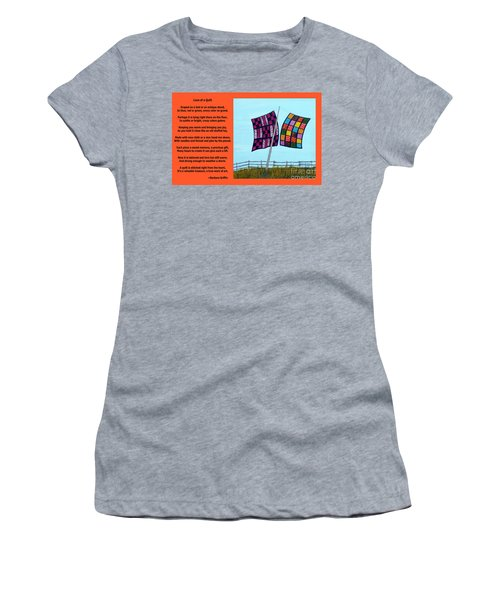 Love Of A Quilt  Women's T-Shirt (Athletic Fit)