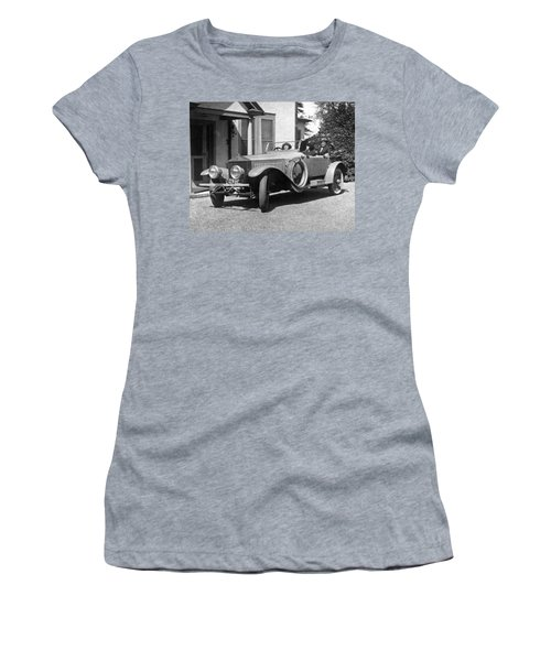 Mabel Normand In A Rolls Royce Women's T-Shirt