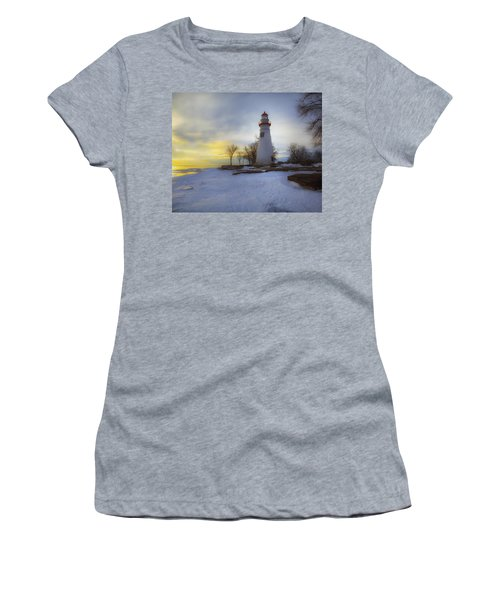 Marblehead Lighthouse Lake Erie Women's T-Shirt (Athletic Fit)